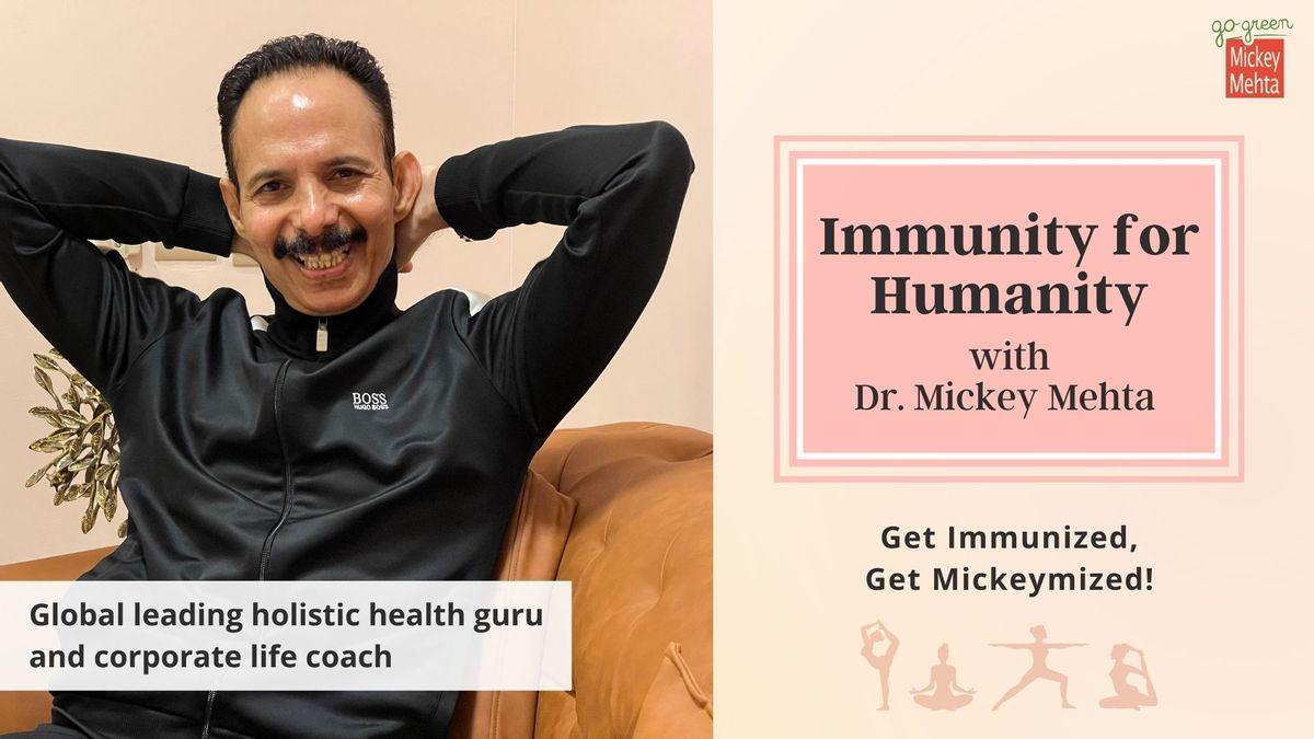 Mickey Mehta Dry Swims To Boost Immunity