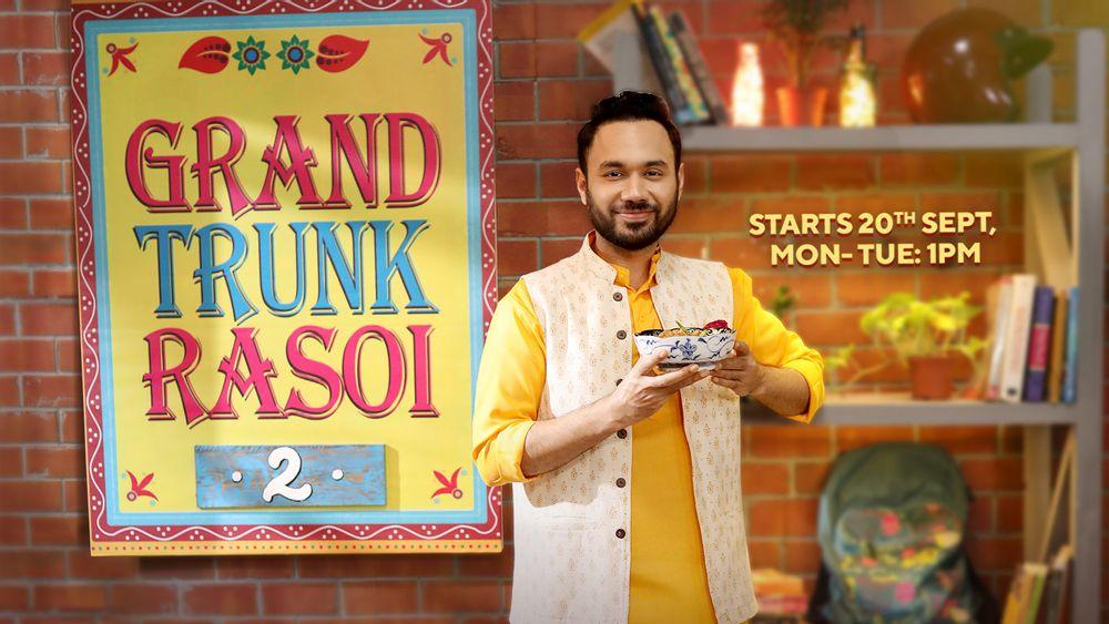 Grand trunk rasoi season 2, shows on zee zest, saransh goila