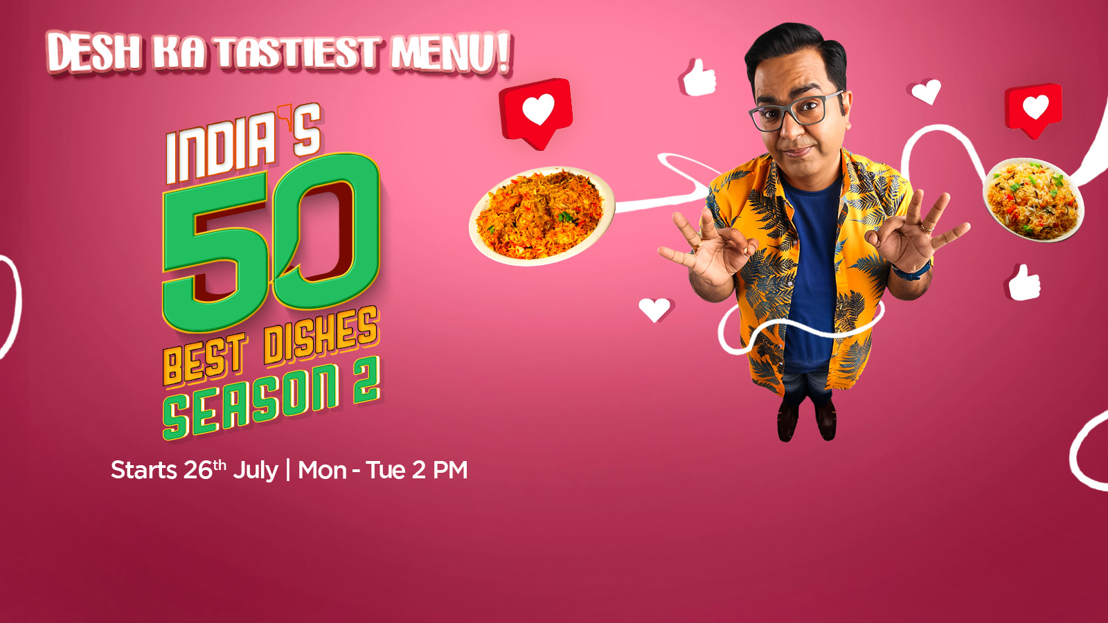 India's 50 Best Dishes - Season 2