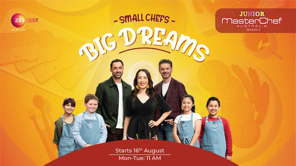 Junior Masterchef Australia season 3, reality tv, cooking competitions on tv, kids cooking competition, masterchef australia