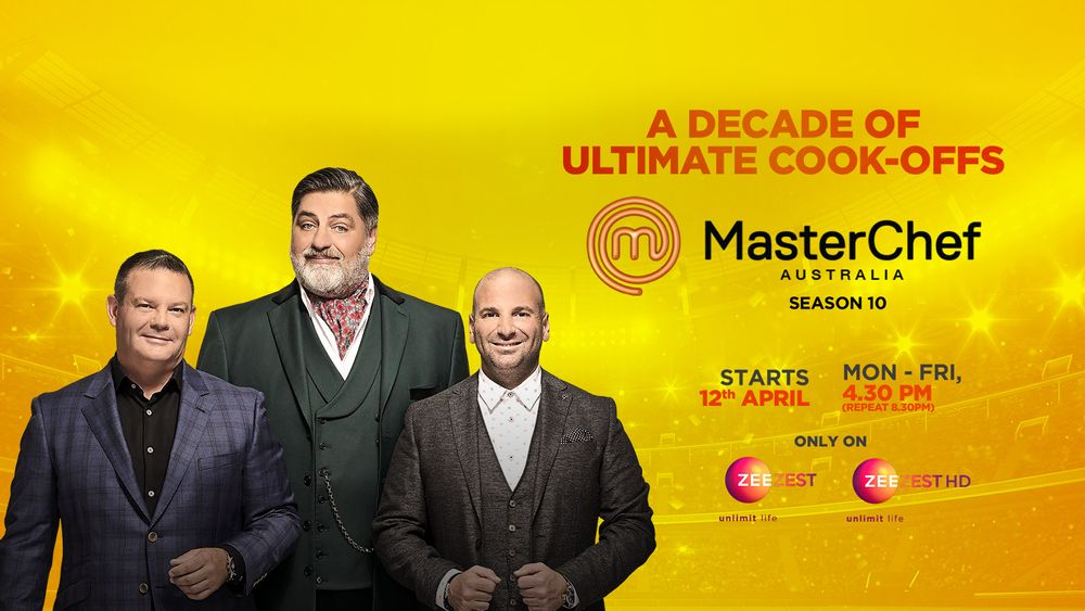 Masterchef Australia season 10 on Zee Zest